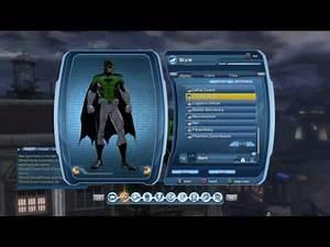 DCUO Green Lantern Batman Style