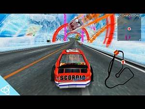 Daytona USA 2: Battle on the Edge (Arcade Gameplay)   Forgotten Games #58