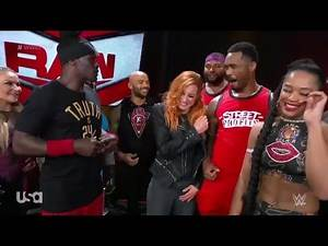 The RAW Roster Congratulates Becky Lynch