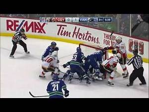 Calgary Flames vs Vancouver Canucks - February 18, 2017 | Game Highlights | NHL 2016/17