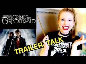 FANTASTIC BEASTS: THE CRIMES OF GRINDLEWALD TRAILER REACTION