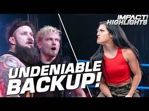 Tessa Blanchard STEPS UP for Daga when oVe Attacks! | IMPACT! Highlights Oct 4, 2019
