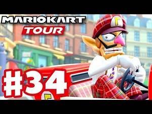 London Tour 100% Complete! - Mario Kart Tour - Gameplay Part 34 (iOS)