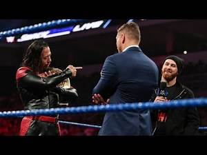 The Miz Vs. Shinsuke Nakamura Reportedly Planned For WWE Clash Of Champions, Other Reported Plans