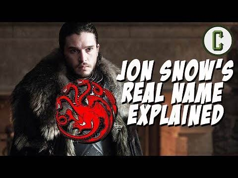 Game of Thrones: Jon Snow's Real Name Explained