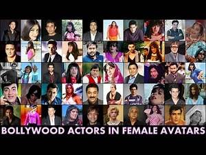 25 Bollywood Male Actors in Female Avatars : Cross Dressing in Hindi Films