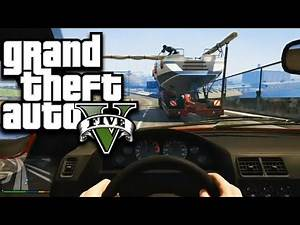 GTA 5 Next Gen: Michael And Franklin Boat Mission First Person!