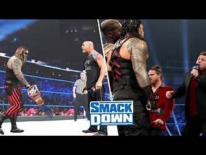 The Fiend Attacks Goldberg First Time - Why Roman reigns Handicap Match | WW Smackdown 14th Feb 2020