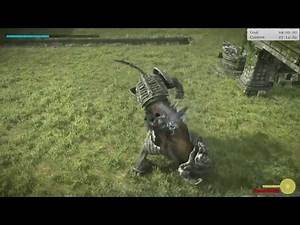 Shadow of the Colossus (PS4) - Colossus #14 NORMAL Time Attack Guide