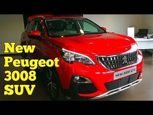 New 2019 Peugeot 3008 SUV Car Review, Better Than Land Rover Discovery?/Interior & Exterior Review