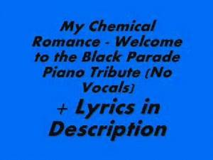 My Chemical Romance - Welcome to the Black Parade - Piano Tribute Lyrics in Description