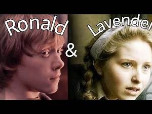 Ron Weasley and lavender brown edit||harry potter