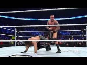 Randy Orton RKO on Joey Mercury - Smackdown - March 19, 2015