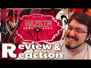 HAZBIN HOTEL Pilot: #Reaction and #Review #AirierReacts