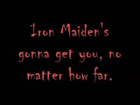 Iron Maiden - Iron Maiden (with lyrics)