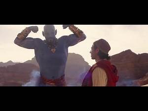 GENE Helps ALADDIN get out from the Cave Scene HD!!