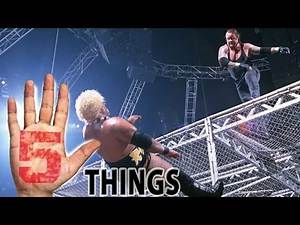 5 of the Scariest Hell in a Cell Moments of All Time - 5 Things