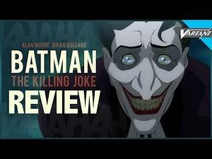 Batman: The Killing Joke Movie REVIEW!