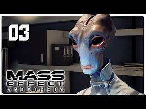 Let's Play Mass Effect Andromeda Blind Part 3 - The Nexus [Mass Effect Andromeda PC Gameplay]