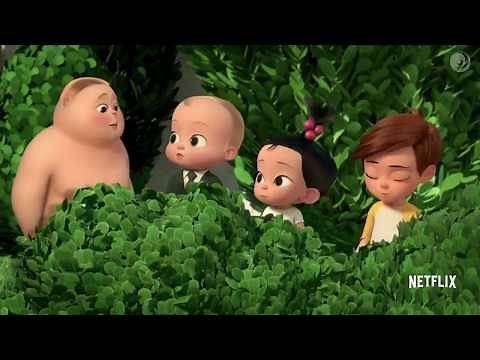 THE BOSS BABY New Series Trailer Animation, Kids Back in Business #familyfriendly