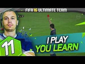 FIFA 16 Ultimate Team RTG #11 - How to Play with a Red Card / The Face Up Dribbling Combos