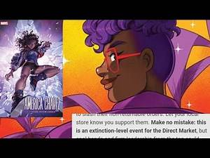 "With Comic Shops Facing ""An Extinction-Level Event""...AMERICA CHAVEZ and Gabby Rivera Get New Books"
