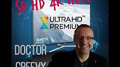 SD, HD, 4K, HDR, and UHD Premium Explained Simply