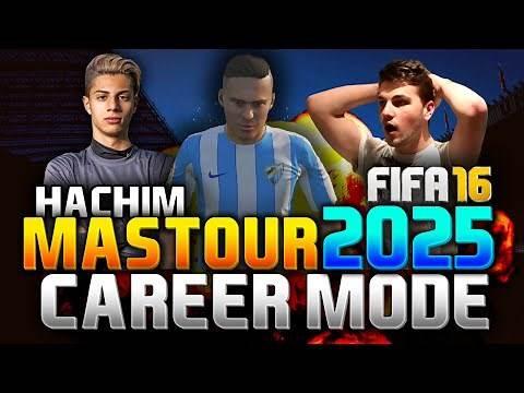 FIFA 16 | HACHIM MASTOUR IN 2025!!! (CAREER MODE)