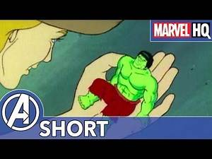 The Incredible Shrinking Hulk! | Marvel Mash-Ups: Hulk | Lil' Hulk