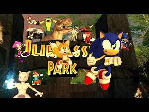 Sonic Travels to Jurassic Park Director's Edition