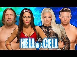 The Miz & Maryse vs. Brie Bella & Daniel Bryan - Hell In A Cell 2018