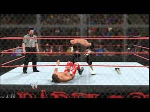 WWE 2K15: HBK vs Triple H Bad Blood 2004 Hell in a Cell Highlights