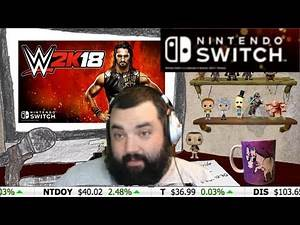 WWE 2K18 CONFIRMED FOR THE NINTENDO SWITCH! ~Investor XP~