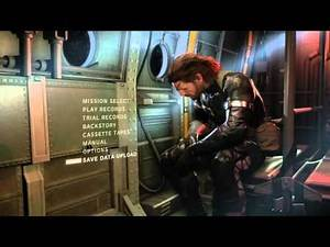 Upoading Ground Zeroes Save Data and Transferring to Phantom Pain