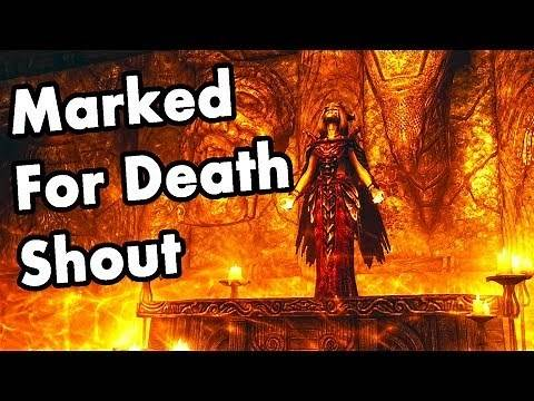 Skyrim: How to get the Marked for Death Shout Location
