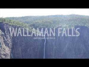 Wallaman Falls in Queensland, Australia