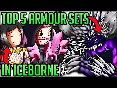 The Top 5 Best Armour Sets in Iceborne - Monster Hunter World Iceborne! (Fun/Discussion) #iceborne