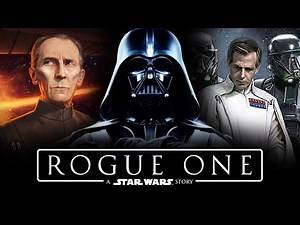 ROGUE ONE - The Trio of Terror! Grand Mof Tarkin, Darth Vader and Krennic! A Star Wars Story