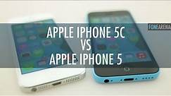 Apple iPhone 5c Vs Apple iPhone 5