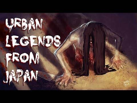 5 Terrifying Japanese Urban Legends from 2CHAN | Allegedly TRUE Folklore Stories from Japan