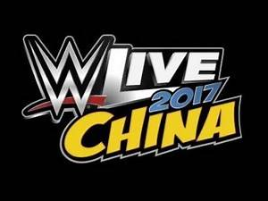 WWE Live - Shenzhen, China - September 17th, 2017
