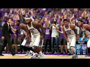NBA 2K17 Kings MyGM | We're Up 1-0 But We're The Kings So IDK Whats Gonna Happen