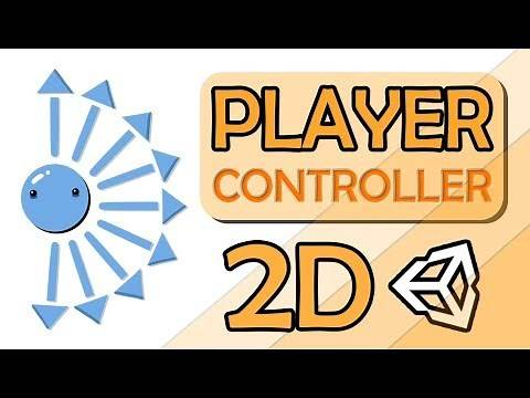 HOW TO MAKE A 2D CHARACTER CONTROLLER IN UNITY - EASY TUTORIAL