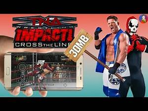 TNA Impact: Cross The Line PSP Game Download For Android!