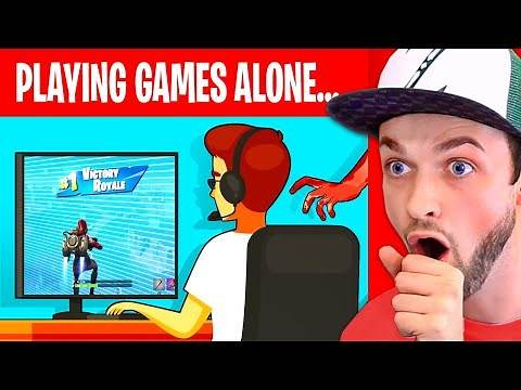 I played Videogames ALONE then THIS happened... (True Story Animation)