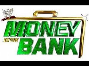 YWE Money In The Bank 2013 Match Card