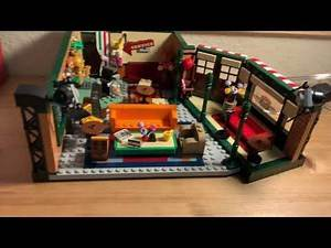 LEGO F.R.I.E.N.D.S Central Perk 21319 Set Review