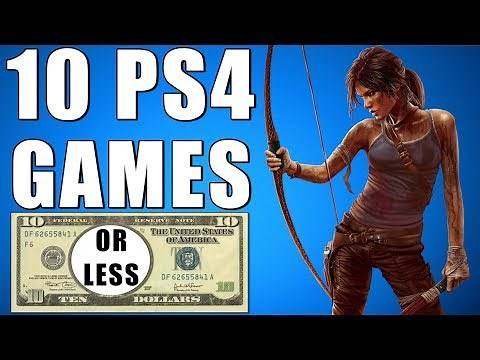 TOP 10 PS4 GAMES UNDER $10 - The Best Cheap Games On PS4 That Are Actually Fun