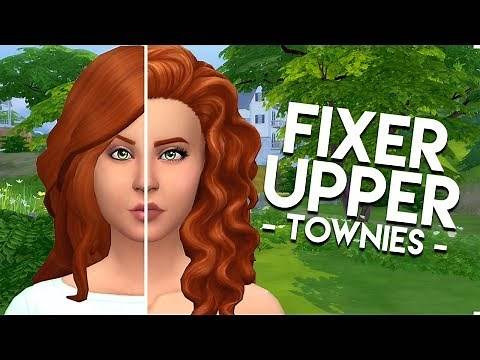 FIXING NINA CALIENTE // The Sims 4: Townie Makeover