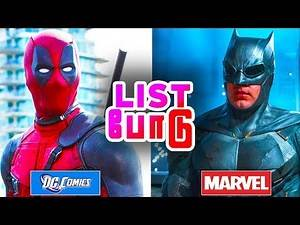 Top 5 Actors Played in both MARVEL and DC (தமிழ்)
